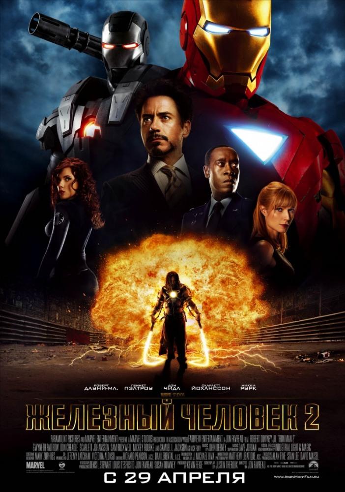 Фильм Железный человек2 смотреть онлайн