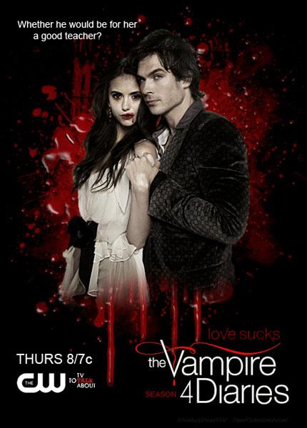 дневники вампиров 4 сезон смотреть в хорошем качестве: